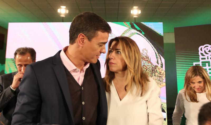 Sánchez en Andalucía