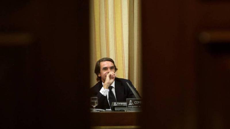 Comparecencia de Aznar en Congreso